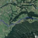1543'er Gaudirace Strecke