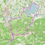Strecke Chiemseerunde 2012